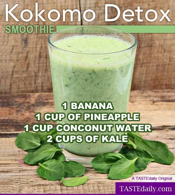 As 25 melhores ideias de Detox smoothie recipes no ...
