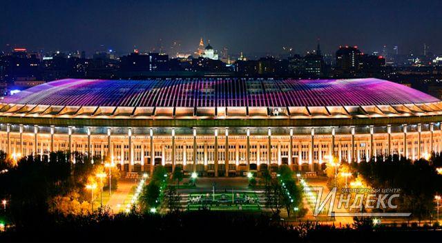 Ландшафтная подсветка украсит «Лужники» к чемпионату мира