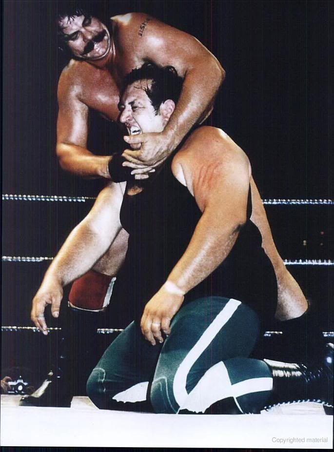 blackjack mulligan & Gorilla Monsoon   WWE Old School ...