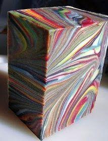 The Soap Bar: Salt Bar Multi Colored Swirl Tutorial by Grumpy Girl