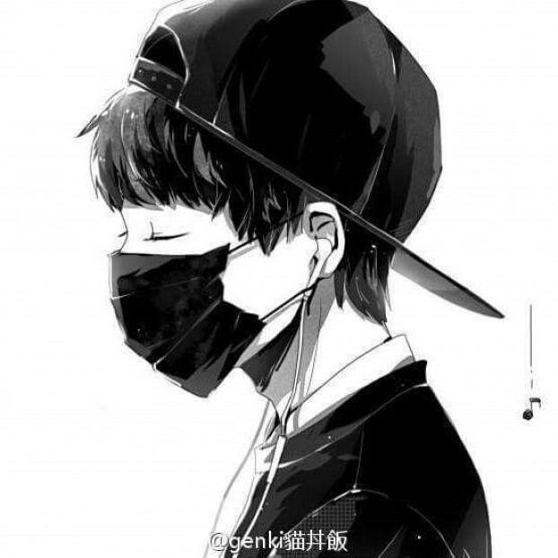 Gue Bukan Batuk Pake Masker Tapi Bisa Aja Gue Pake Masker Untuk Ngindari Polusi Debu Animeboys Anime Boys Manga Anime Ilustrasi Orang Lukisan Keluarga