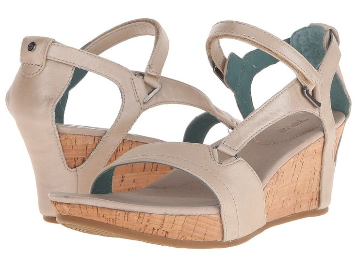 TEVA TEVA - CAPRI WEDGE (PEARLIZED IVORY) WOMEN'S WEDGE SHOES. #teva #shoes #