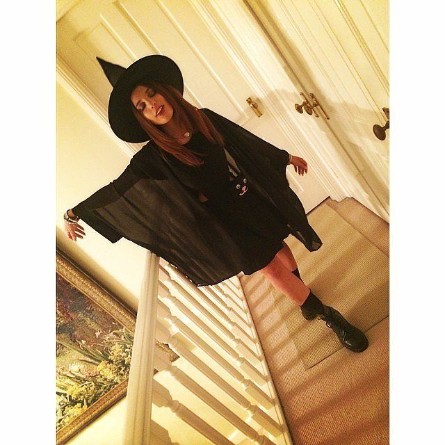 Wickedly stylish Witch costume for trick-or-treating this Halloween