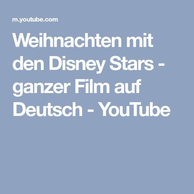 Weihnachten mit den Disney Stars - ganzer Film auf Deutsch - YouTube