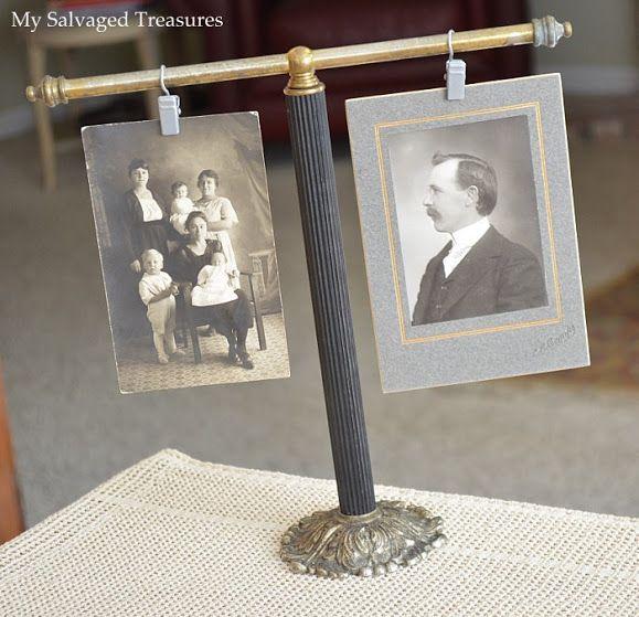 My Salvaged Treasures: Repurposed Towel Bar