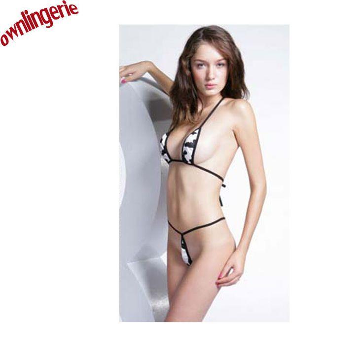 Women Extreme Sexy Tiny Mini Micro Brazilian Bikini Swimwear Thong Bikini Lingerie Underwear Swimsuit