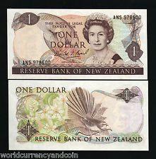 NEW ZEALAND $1 P169 1989 QUEEN RUNNING # BUNDLE UNC BIRD MONEY 100 CURRENCY NOTE