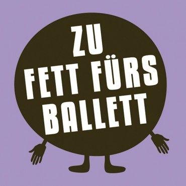 HOMEADE IN HAMBURG Kühlschrankmagnet Ballett