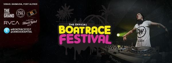 The poster and official announcement for my son, Das Kapital - headlining The Boatrace Festival. HARD, HARD work!