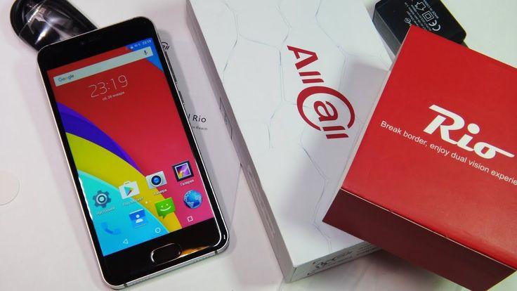 Недорогой смартфон AllCall Rio из Китая | Распаковка смартфона