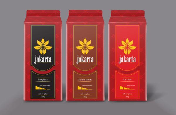 Café Jakarta on Behance (Fernando Gressler)
