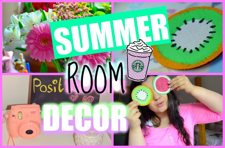 ♡ DIY SUMMER ROOM DECOR  2015 ♡