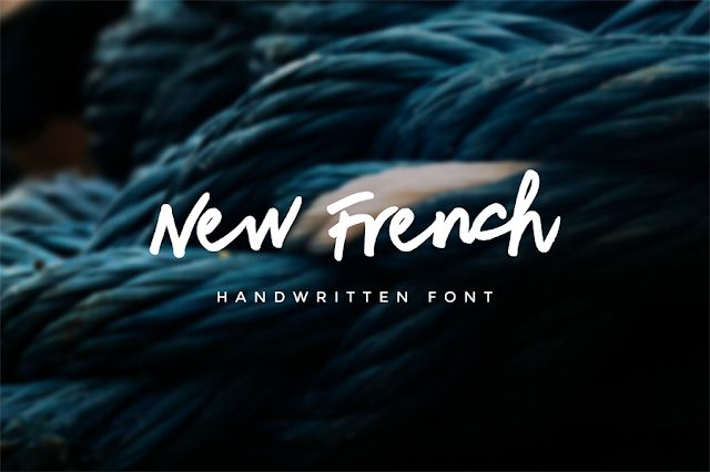DLOLLEYS HELP: New Fench Free Font