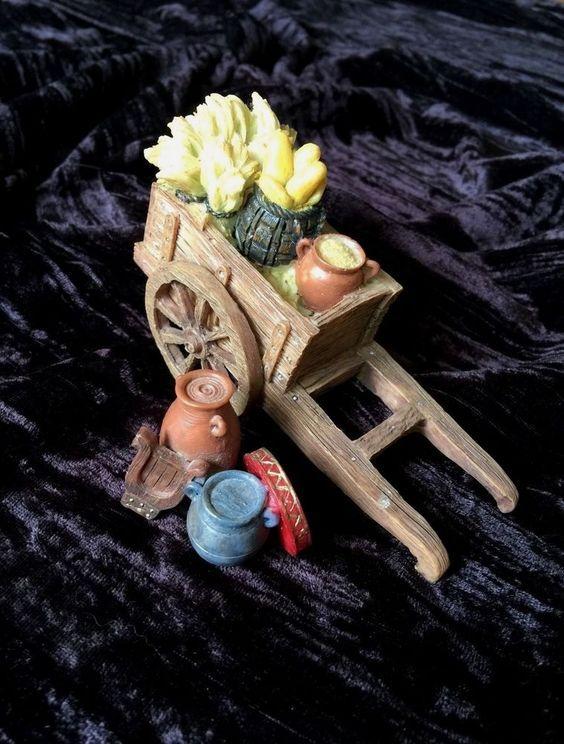 "Fontanini 5"" Reliquia Mas Carro de cosecha | Objetos de colección, Adornos de colección, Marcas de colección | eBay!"