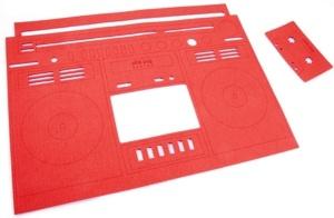 PINK PUG design podkładka pod talerz i kubek