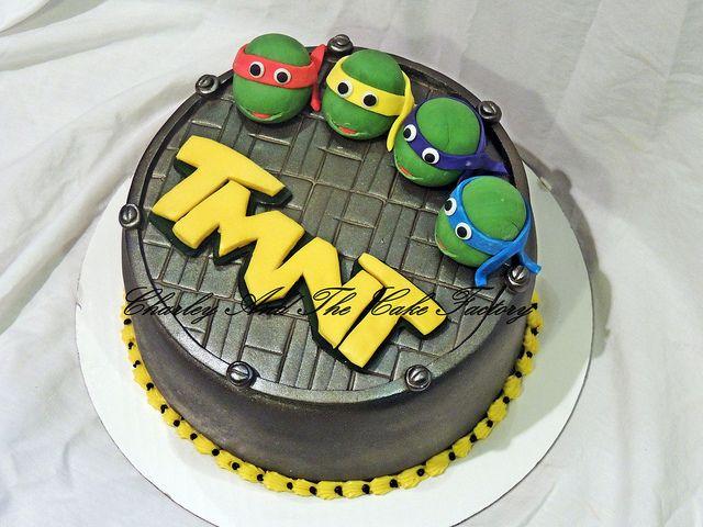 Images Ninja Turtle Cakes