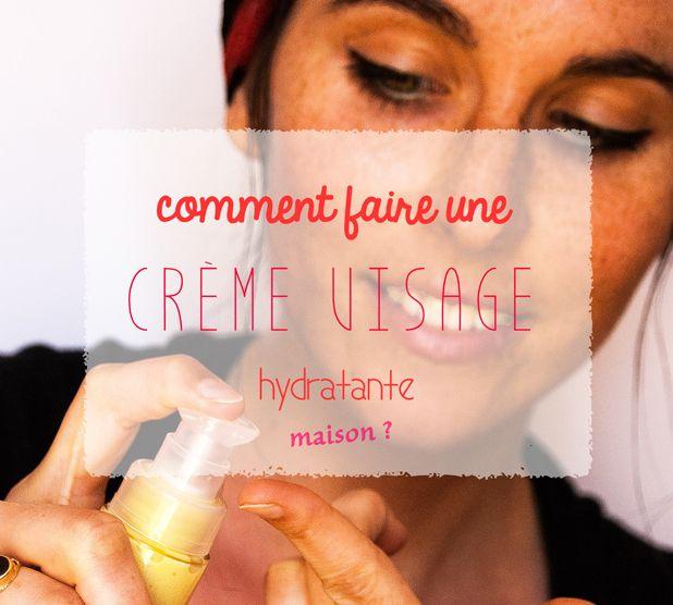 CrèMe Hydratante Visage Maison – Bonne Mine !