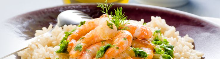 Asian risotto with shrimp