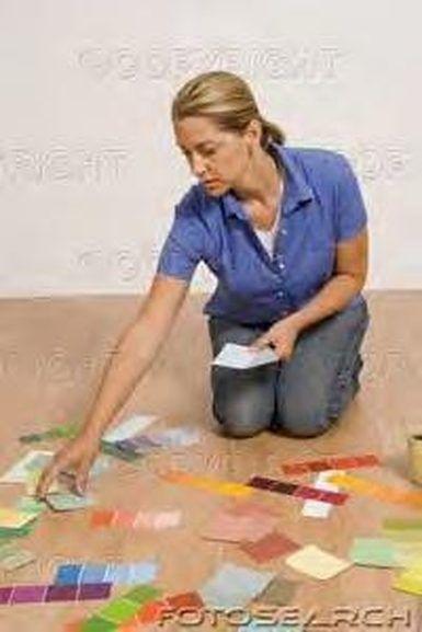 Cómo pintar diseños sobre pisos de cemento