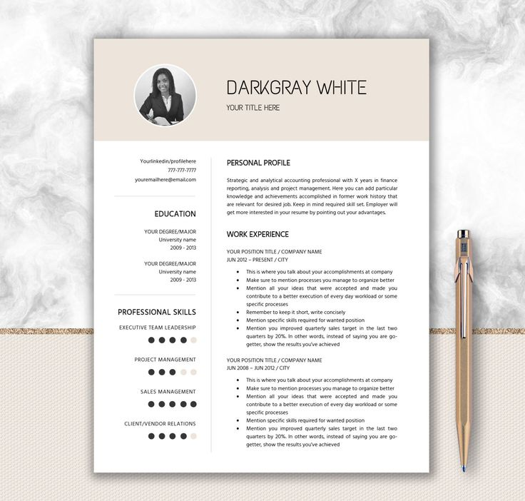17 parasta ideaa Resume Templates Word Pinterestissä - resume templates word mac