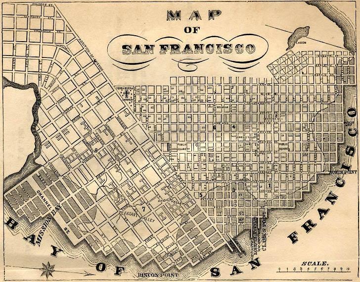 San Francisco Published 1855