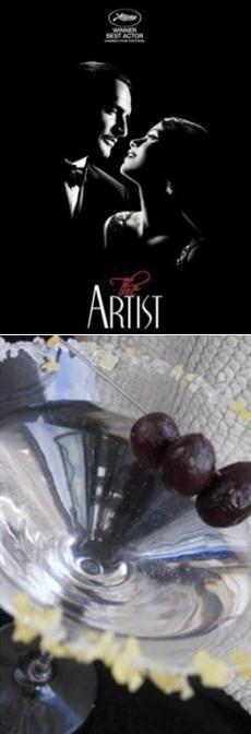 Коктейль «На грани звука» из фильма «Артист» (англ. The Artist) — чёрно-белый художественный фильм, снятый в стилистике немого кино, романтическая комедия французского режиссёра Мишеля Хазанавичуса, вышедшая в 2011 году. В главных ролях задействованы Жан Дюжарден и Беренис Бежо.  «Артист» был назван лучшим фильмом 2011 года по версии нескольких сообществ кинокритиков из разных городов США, получил премию «Оскар» за лучший фильм и заслужил множество похвальных отзывов от мировых кинокритиков…