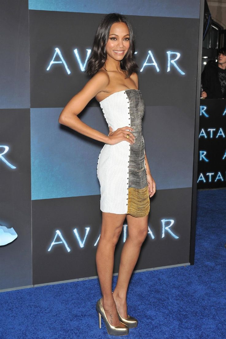 zoe saldana style | my chic my way: Fashion File: Zoe Saldana