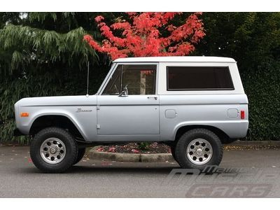 1977 Ford Bronco Silver - Great Driver - Last Year of the Vintage Bronco!, image 7