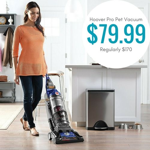 Hoover WindTunnel Pro Pet Vacuum Cleaner only $79.99! Was $170!