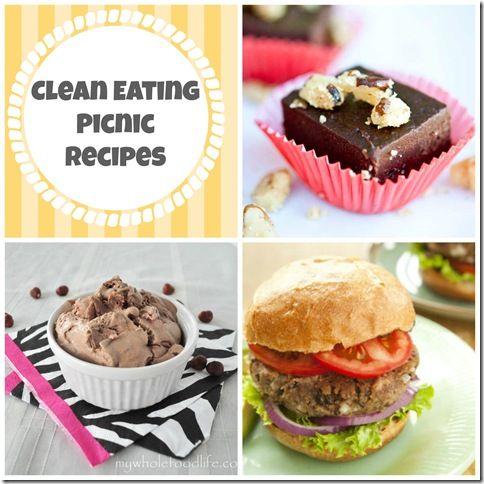 Clean Eating Picnic Recipes ... banana walnut fudge