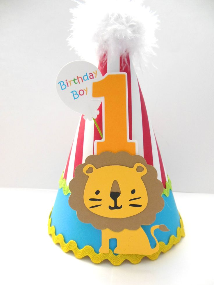 Lil' Lion Circus Party Hat Carnival by SandysSpecialtyShop, $24.00