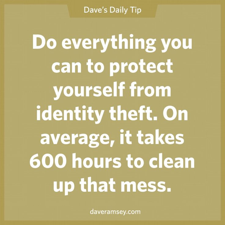 Identity theft is the fastest growing white-collar crime in America.