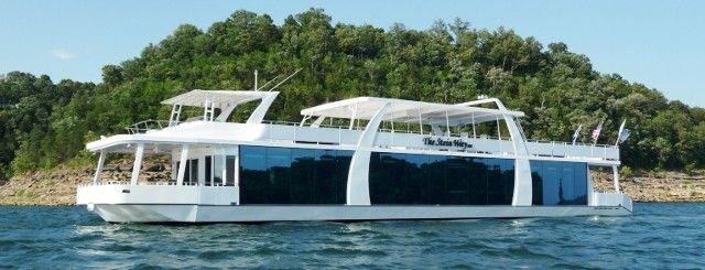 Custom Designed Houseboats