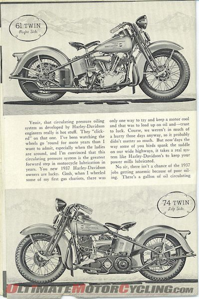 """Harley-Davidson Knucklehead in """"The Enthusiast"""""""