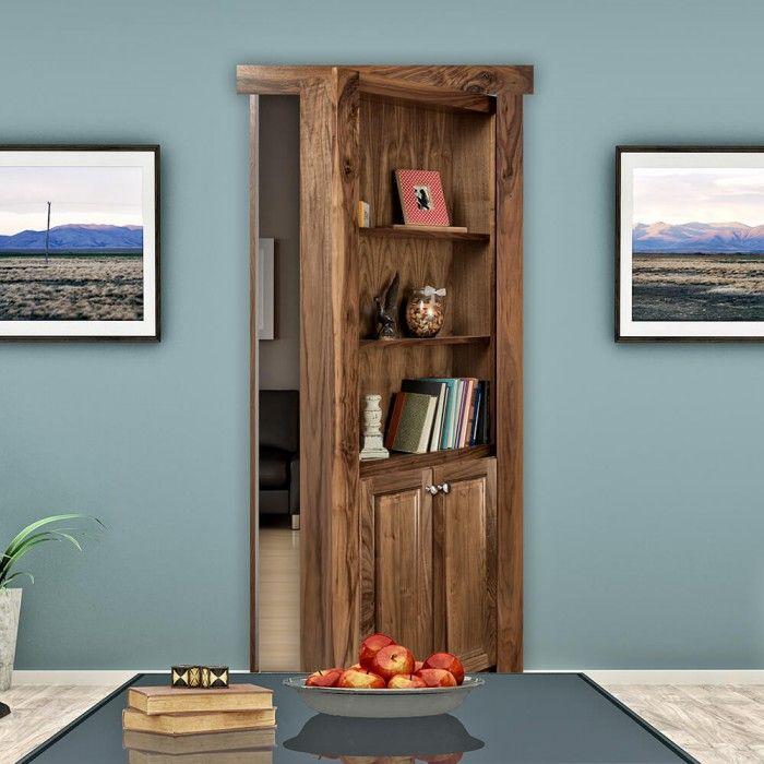 Bookshelf Pantry Ideas