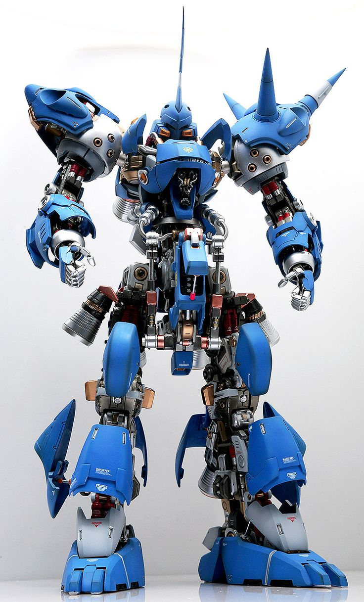 1/60 MS-18E KAMPFER: Full Hatch Open. AMAZING WORK. Full Photoreview No.17 Hi Res Images | GUNJAP
