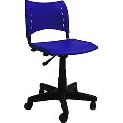 Cadeira Secretária Evidence Giratória sem Braço Azul - Classic Home