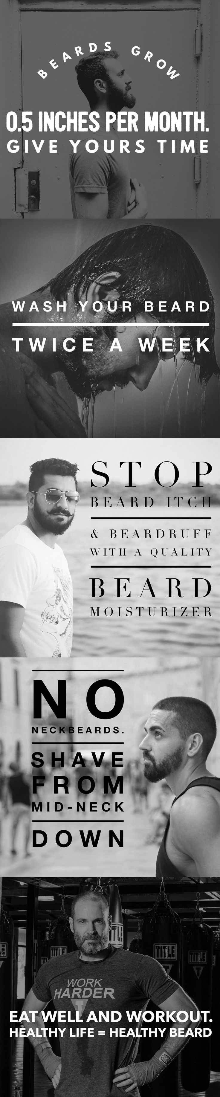 Beards aren't going away anytime soon. A record number of men are embracing the beard and ditching those sadistic razors. Read on for our top five tips for growing and maintaining your best fall beard. www.stubbleandstache.com