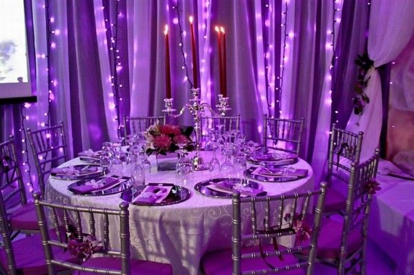 Bella Lux Led String Lights : 65 best images about Purple Winter Wonderland Wedding theme on Pinterest Receptions, Wedding ...