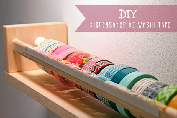 DIY Antes y Después '13: Dispensador de Washi tape de Lanukas : x4duros.com
