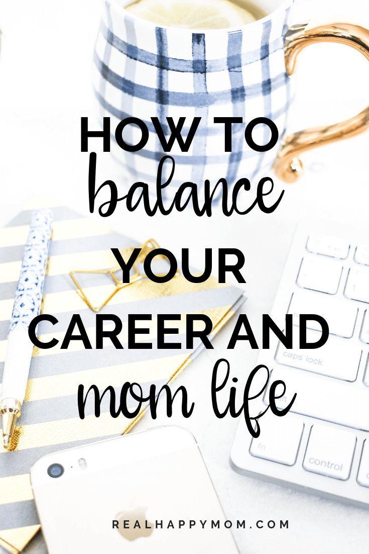 Hoe u een evenwicht kunt vinden tussen uw carrière en uw moederleven