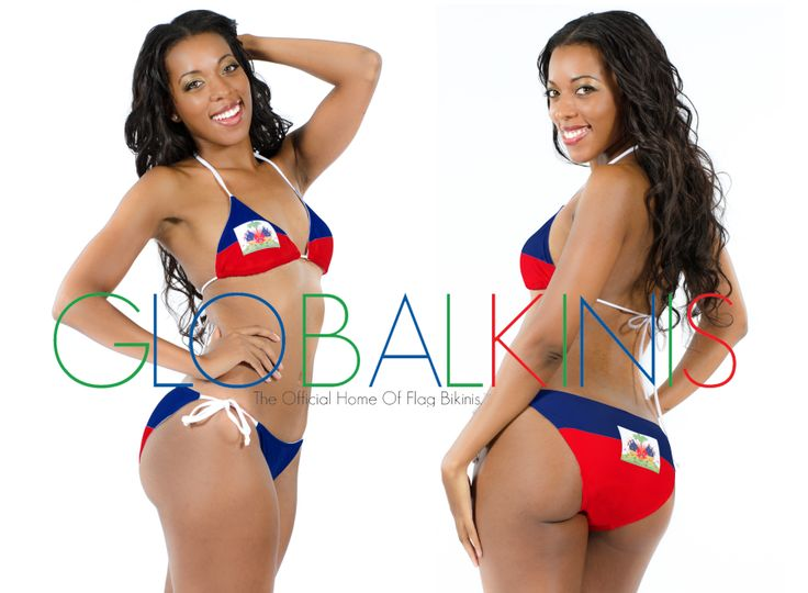 haiti flag bikini presented by globalkinis view our entire collection