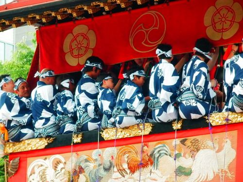 Gion Festival, Kyoto, 2013