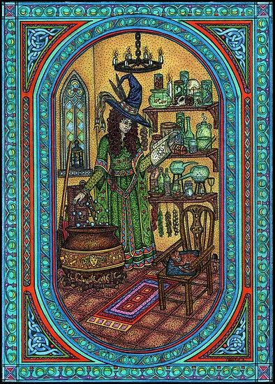 """""""The Witch's Kitchen"""" by Cherrie B"""