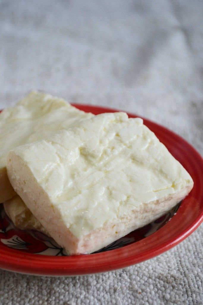 Homemade Haloumi Cheese