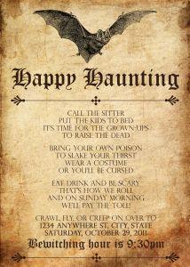 Download...Bat Grunge Halloween Invitation  http://www.selinamb.com/?p=5#
