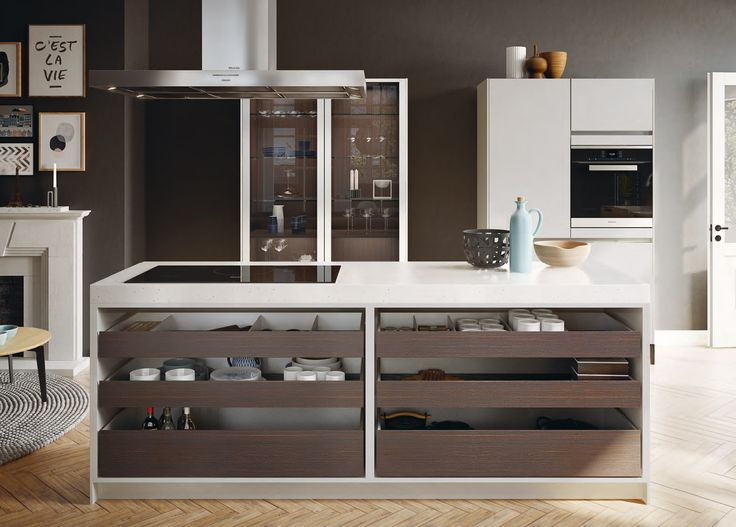 SieMatic Urban Will Easily Become Your Favorite Room In The House. With Its  Open Drawers