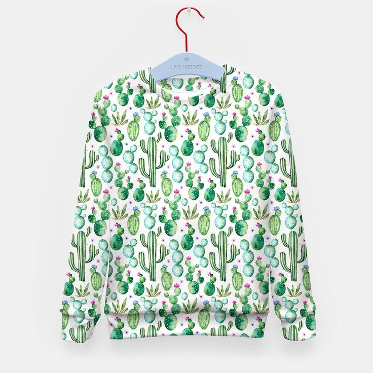 Cactus Kindersweatshirt