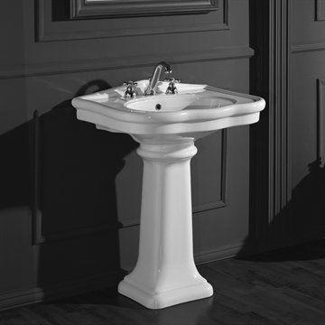 Håndvask Old Victorian 70 i klassisk stil.