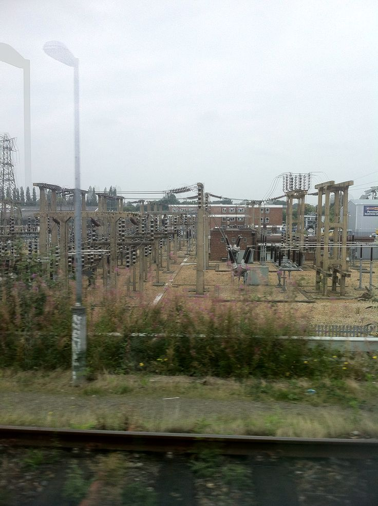Taken from a moving train.